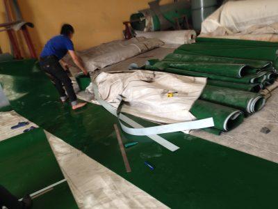 Băng tải PVC Trắng
