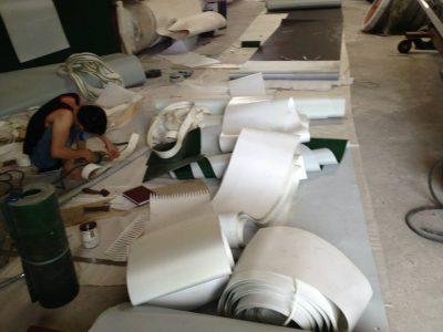 sản xuất băng tải PVC