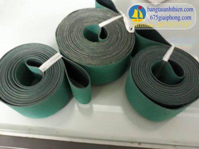 Dây đai dẹt xanh 1 ly ( dây dai det xanh sẫm 1 mm, dây đai dẹt 1 li xanh sẫm, dây curoa xanh 1 ly,2ly…)