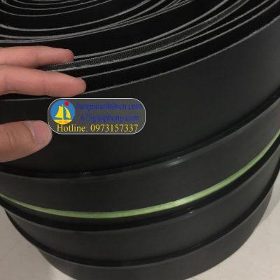 băng tải PU đen 1.5mm, 1.6mm, ép nhiệt gân K8( băng tải, gân điều chống tĩnh điện)