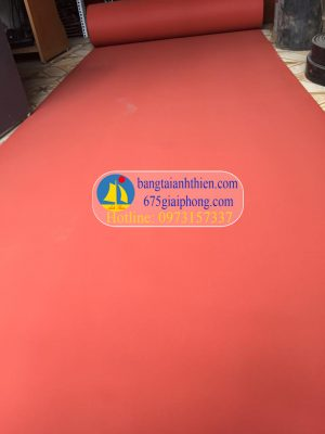 gioăng silicon xốp màu đỏ chịu nhiệt (10)