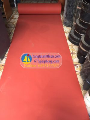 gioăng silicon xốp màu đỏ chịu nhiệt (5)