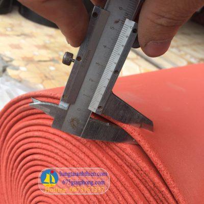 gioăng silicon xốp màu đỏ chịu nhiệt (9)
