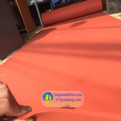 tấm silicone màu đỏ xốp chịu nhiệt (1)