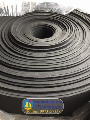 Cao su xốp tấm màu đen, cao su xốp dày 2mm, 3mm, 4mm,5mm,…10mm