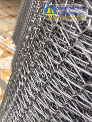 Lưới inox 304 dùng cho băng tải, bước ly x6, 6×8, 5×10, 6×12, ….18×30