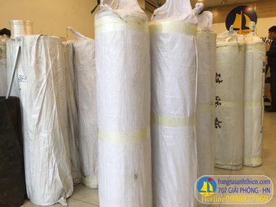 Tấm silicpon dang cuộn nặng khoảng 50 đến 70 kg màu trắng và màu đỏ xốp chịu nhiệt cao nhiều cỡ tại anh thiên giải phóng hn