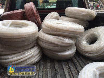 Ống silicon dạng cuộn 10 kg các size 2×4,4×6,6×8,… ống silicon màu trắng chịu nhiệt cao mền dẻo